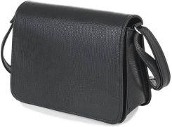 feb541f360fa0 Skórzana torebka damska kopertówka brodrene oslo czarna