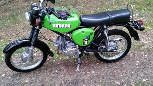 Simson S80 Odrestaurowany Film You Tube Zielony Opinie I Ceny Na Ceneo Pl