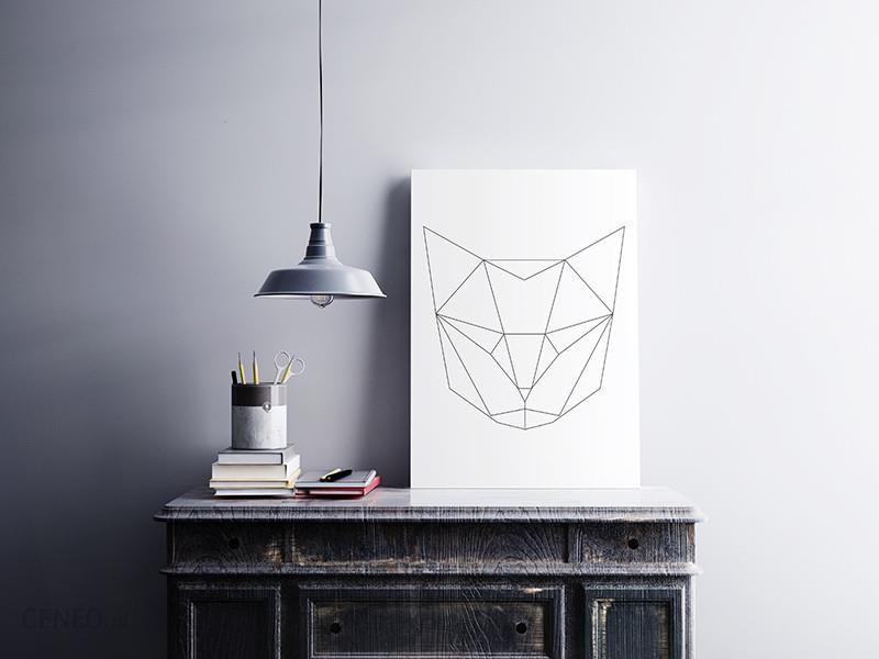 Plakaty I Spółka Plakat 40x50cm Kot Geometryczny Opinie I