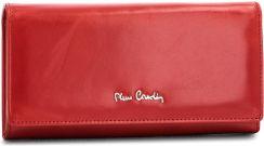 cb48d390b83c9 Duży Portfel Damski PIERRE CARDIN - 01 LINE 100 Czerwony