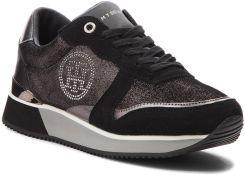 85e699b8dd14d Sneakersy TOMMY HILFIGER - Stud City Snea FW0FW03229 Black 990 eobuwie