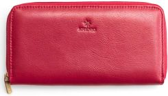 6ed99abbed848 Portfel skórzany damski KRENIG Classic 12014 czerwony