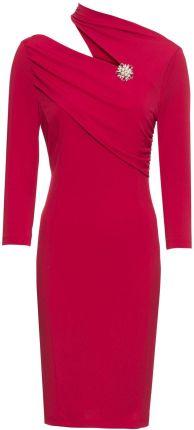 c7f568d1d4 Sukienka dzianinowa czerwony 48 50 4XL 5XL 910295 - Ceny i opinie ...