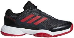 ccc732c1362 Adidas Juniorskie Buty Barricade Club Xj Core Black Scarlet Ftwr White  (Bb7935)
