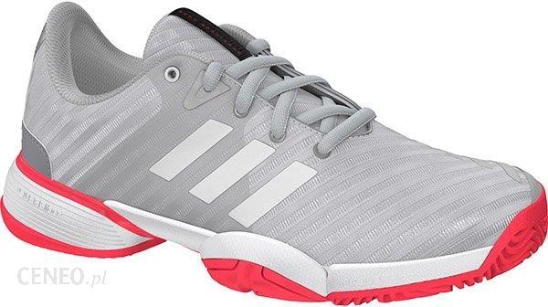 sports shoes 90420 d7e68 Adidas Juniorskie Buty Barricade Club Xj Metallic Silver Ftw White Flesh  Red (Bb7937) -