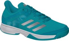 ec8c94808a92 Adidas Juniorskie Buty Adizero Club K Hi-Res Aqua Matte Silver Ftw White  (Bb7941