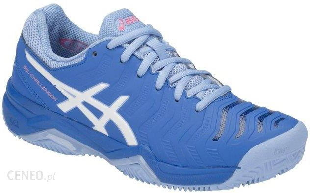 Asics Buty Gel Challenger 11 Clay Electric Blue White (E754Y400) Ceny i opinie Ceneo.pl