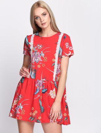 b47fd774b7 Bik Bok RILEY Sukienka letnia red - Ceny i opinie - Ceneo.pl