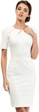 4f6f45cb30 Podobne produkty do 37 1 Elegancka sukienka z krótkim rękawkiem Brzoskwinia
