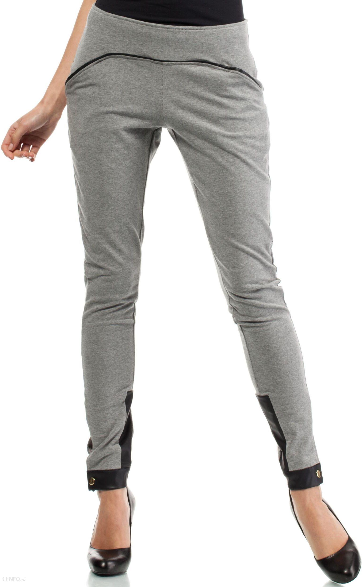Amazon adidas Essentials damskie spodnie z mankietami, szary, L Ceneo.pl