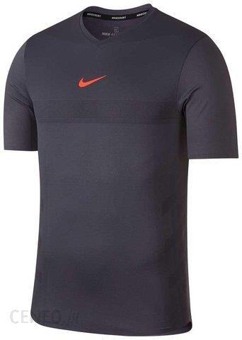 fe7e26f30addd3 Nike T-Shirt Koszulka Rafa Aeroreact Top Gridiron Light Carbon Hyper  Crimson (888206009)
