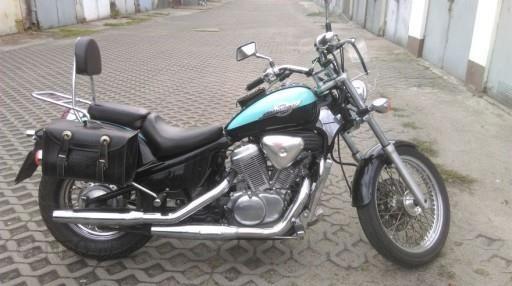 Honda Shadow Vt600 Custom Idealny Stan Turkusowa Opinie I Ceny Na Ceneo Pl