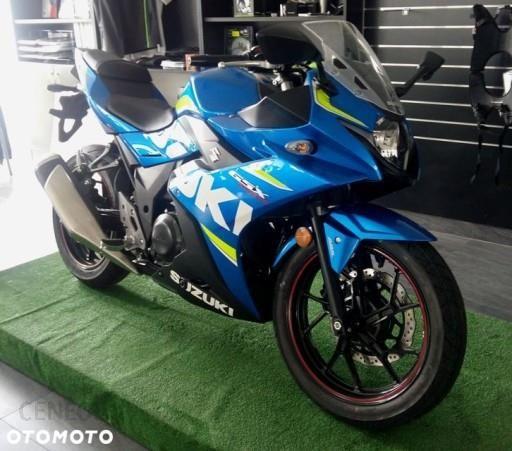 Młodzieńczy Motocykl sportowy Suzuki GSX-R 250 ścigacz 2017r. - Opinie i ceny AR75