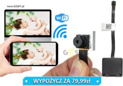 Kamera Wifi Do Ukrycia As294 Full Hd