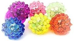 Virginia Toy & Novelty Strawberry Bump Flashing Ring in Assorted Colors (VT23CS1ST)