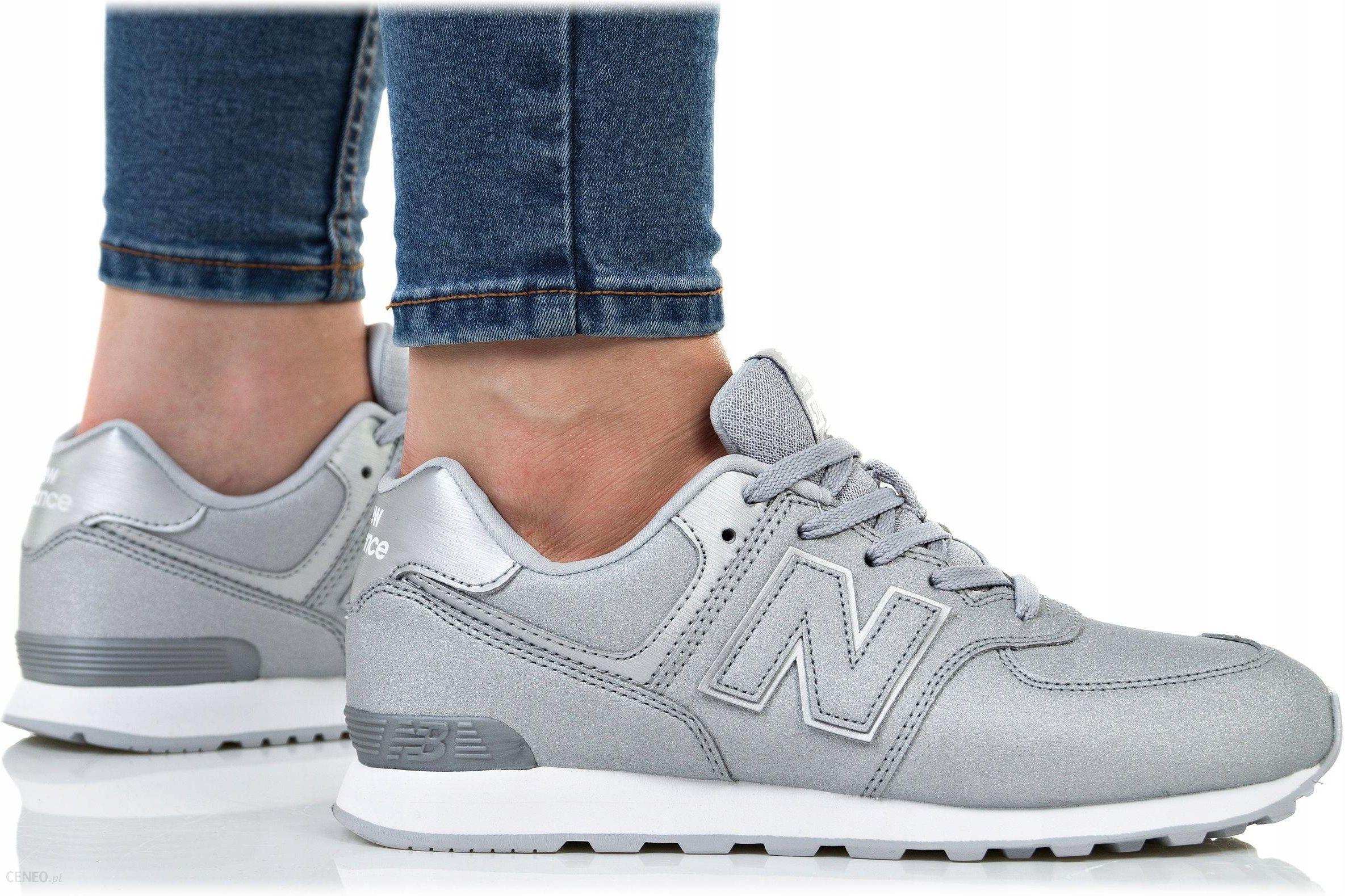 Sneakersy NEW BALANCE GC574KS Srebrny eobuwie.pl