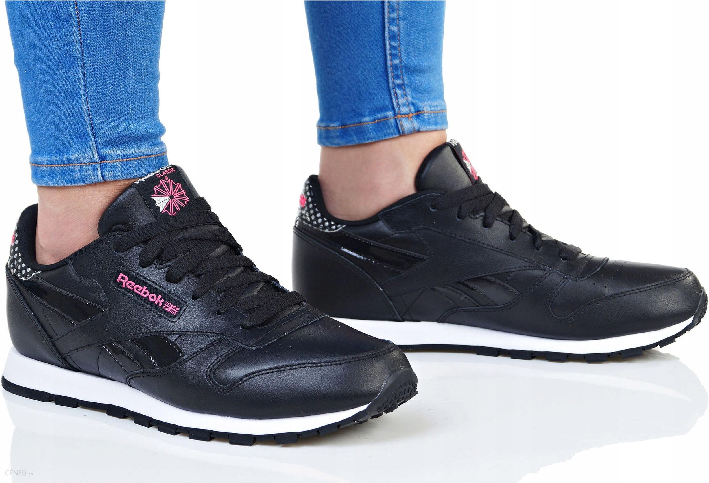 Buty Reebok Cl Leather Girl Squad Cm9136 38