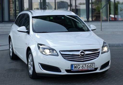 Opel Insignia A 2016 Km Kombi Bialy Opinie I Ceny Na Ceneo Pl