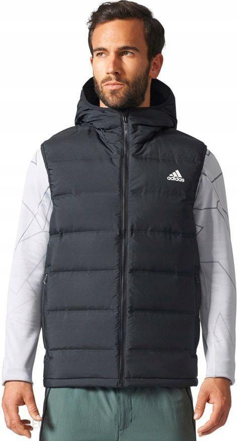 Adidas Kamizelka męska Helionic Vest czarna r. S ( Ceny i opinie Ceneo.pl
