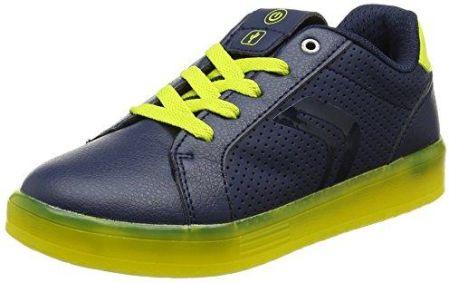 low priced a861b 86fa7 Amazon Geox młodych J kommodor Boy szer. Sneaker - niebieski - 40 EU