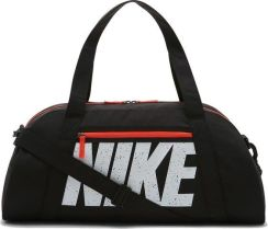 c280f43e5ee30 Nike Torba Gym Club Training Duffel Bag Black Total Crimson White  (Ba5490015)