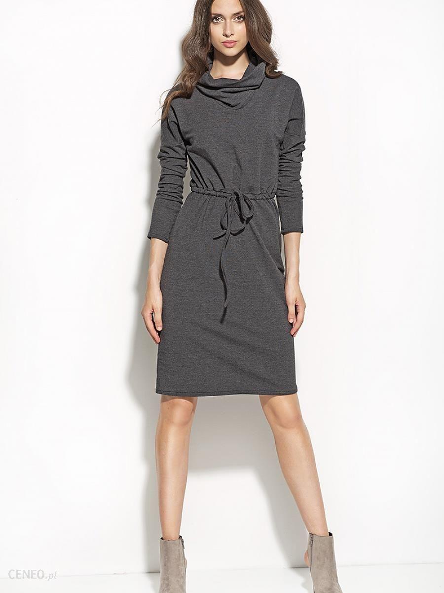 4d4a461596 Sukienka Sukienka Model S57 Grafit 40 - Ceny i opinie - Ceneo.pl
