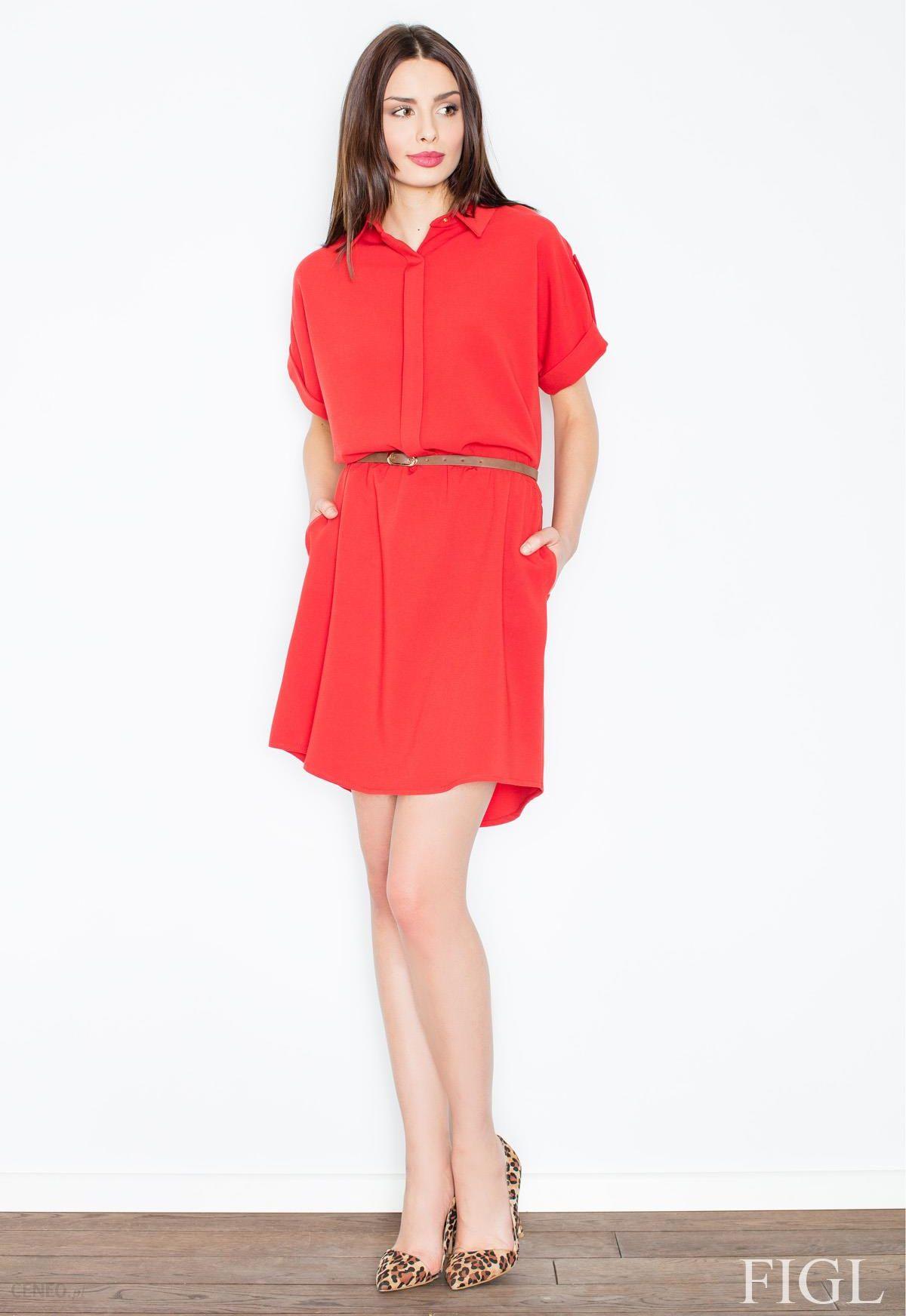 6b2381318d Sukienka Model M442 Red XL - Ceny i opinie - Ceneo.pl