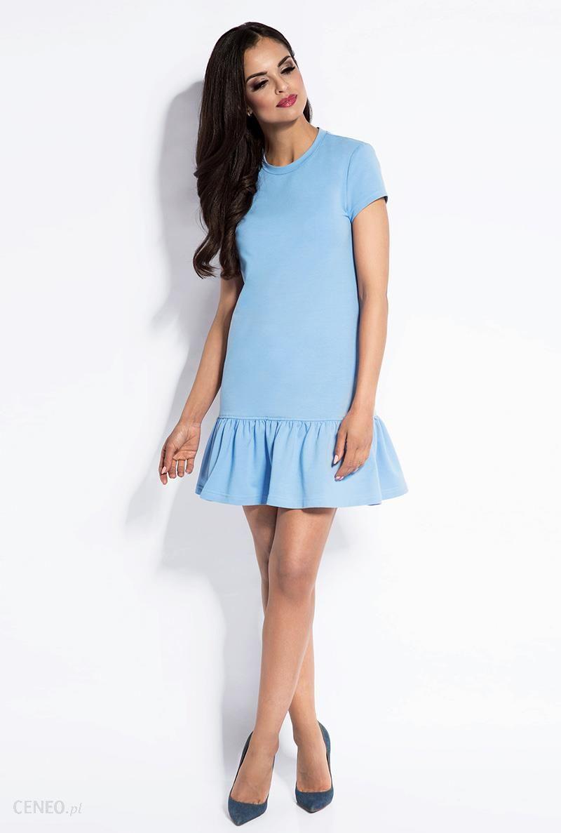 51771b0efd Sukienka Model Bony Sky Blue S - Ceny i opinie - Ceneo.pl