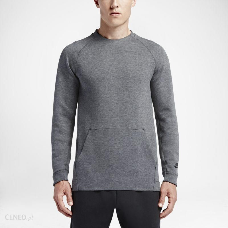 unikalny design wiele modnych całkowicie stylowy Bluza męska Nike Sportswear Tech Fleece Crew - Szary