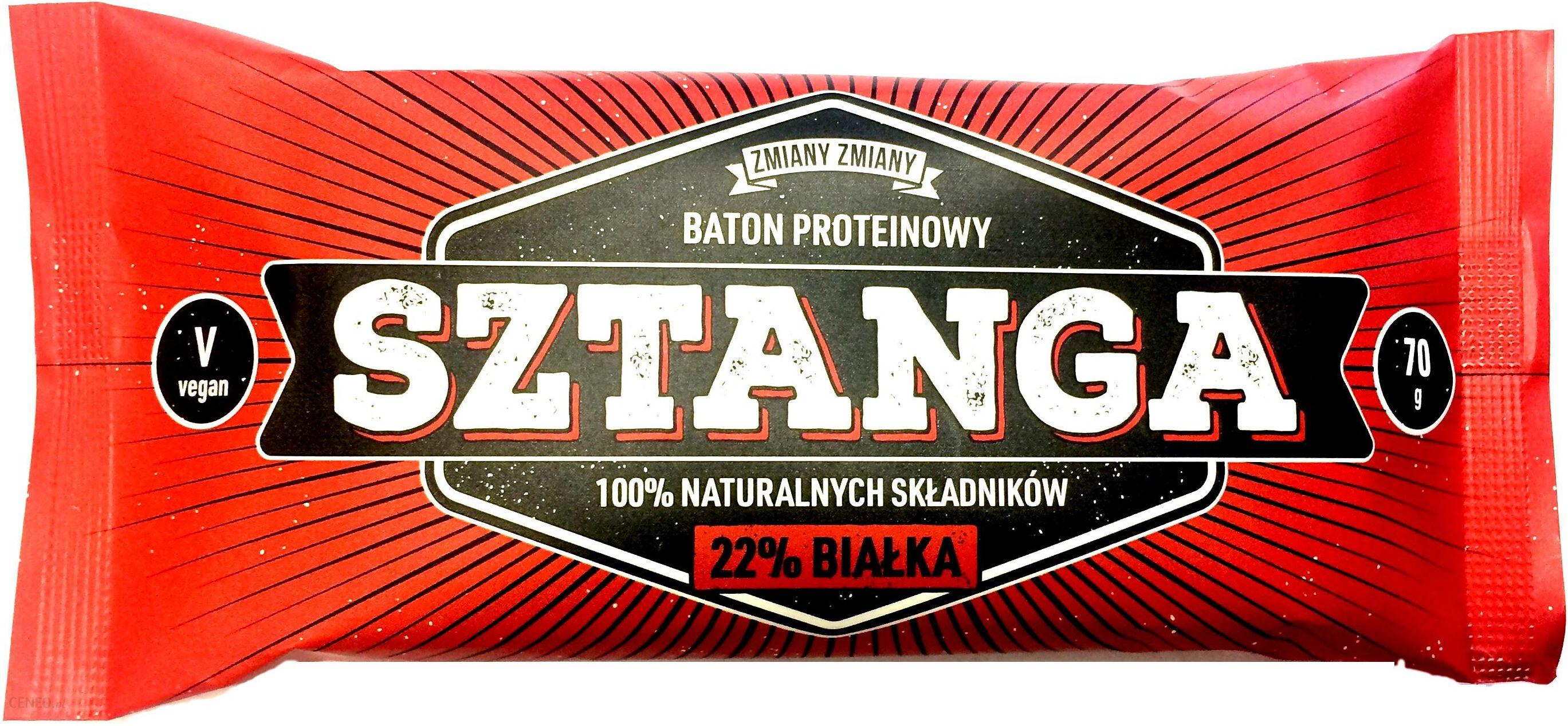 Zmiany Zmiany Baton Sztanga Proteinowy Orzech 70G