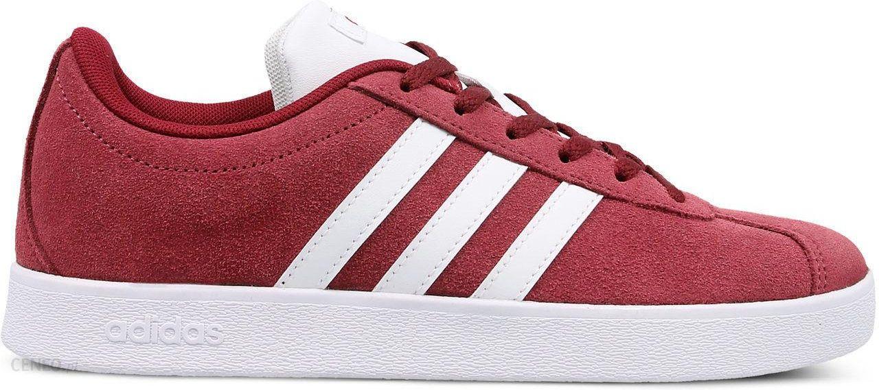Buty VL Court 2.0 Adidas (bordowe) Ceny i opinie Ceneo.pl