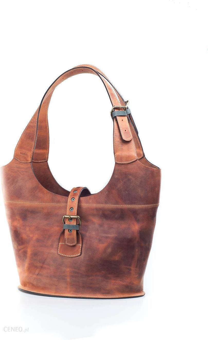 58752317ef0ca ladybuq art studio torebka skórzana ruda torba ręcznie robiona - zdjęcie 1