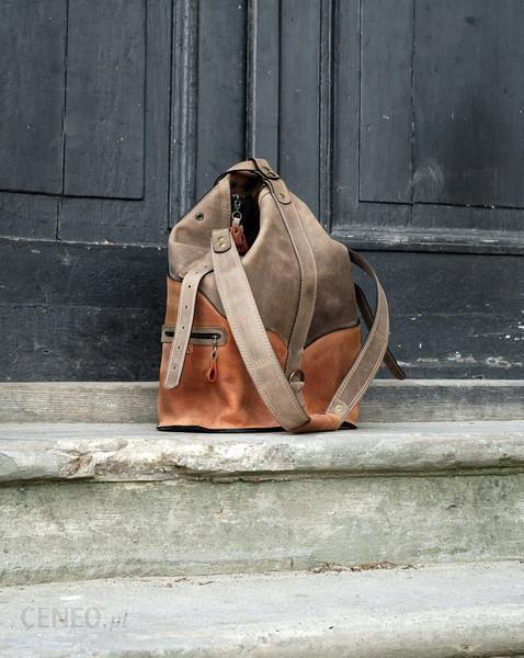 8a0ad0c2b4d70 Ladybuq art studio Torba Plecak skórzany ręcznie wykonany - Ceny i ...
