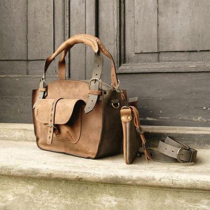 af555ab33f93c ladybuq art studio skórzana torebka ręcznie robiona Kuferek MNIEJSZY