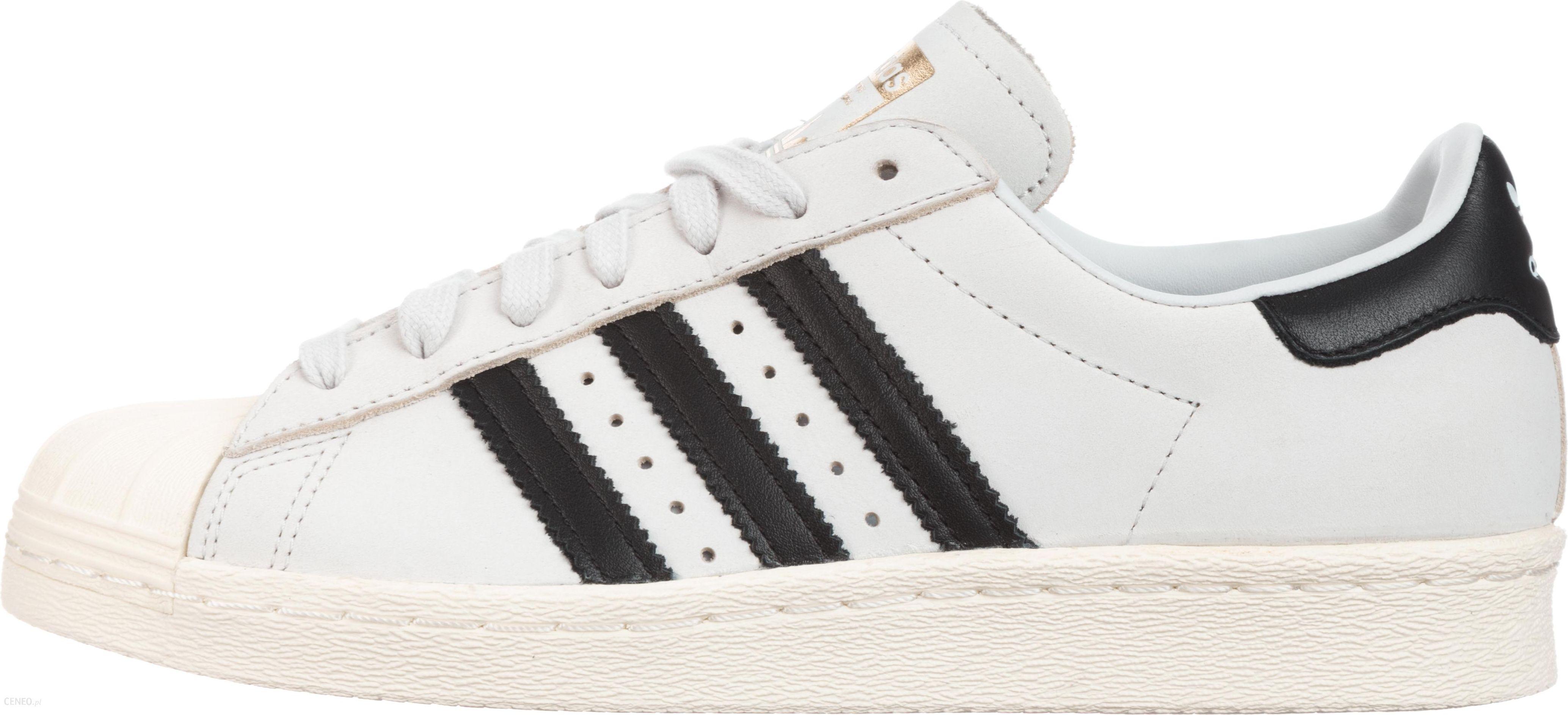 Buty Adidas Superstar 80s damskie skórzane 42 Ceny i opinie Ceneo.pl