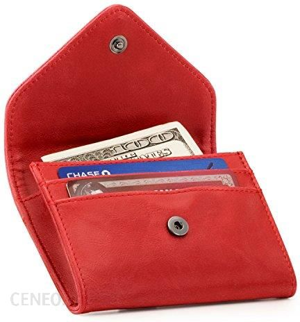 b7b26b1745ade Amazon Otto skórzany portfel pieniędzy i kart kredytowych organizer – RFID  ochrona ...