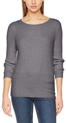1d7080336a6b5 Amazon Vero Moda damska bluza, kolor: szary (Medium Grey Melange) , rozmiar