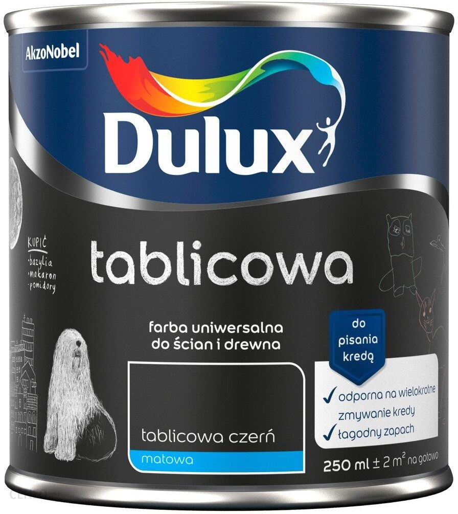 """Dulux"" juodi matiniai lentos dažai 0,25L L"