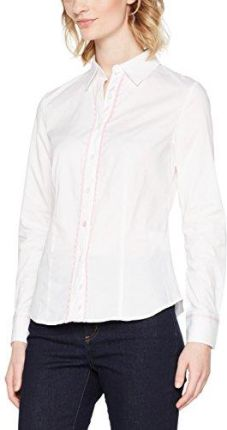 Amazon Joe Browns torebka damska bluzka Pretty White Shirt -  zapinany na guziki (button down) 44