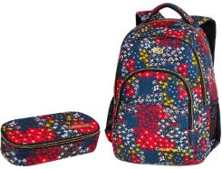 Patio Zestaw Coolpack Summer Meadow Plecak Basic Plus + Piórnik Campus