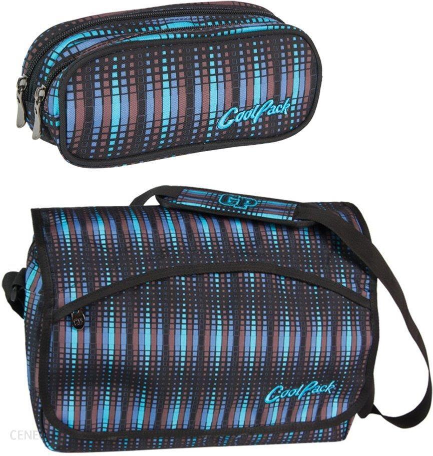 f78e8751ba254 Patio Zestaw Coolpack Blue Flash Torba Reporter + Piórnik Clever - zdjęcie 1