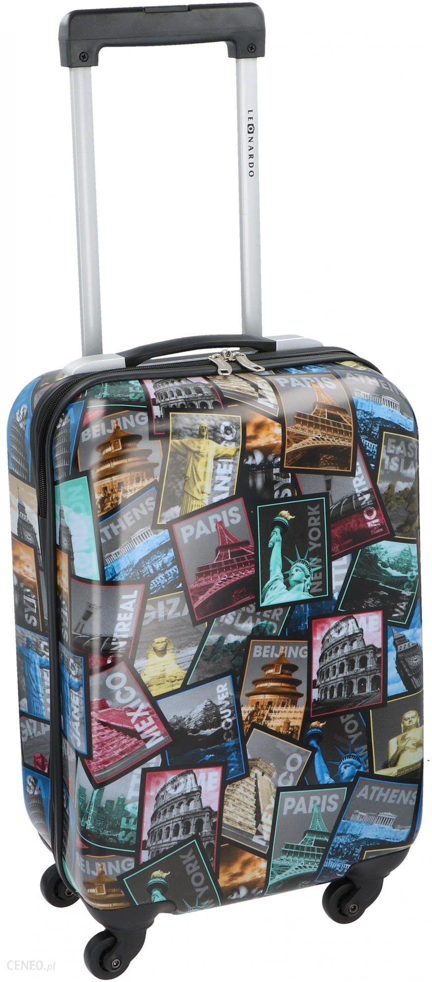 3cbd97f58da0e Leonardo walizka City Names, 31 l, BEZPŁATNY ODBIÓR: WROCŁAW! - Ceny ...