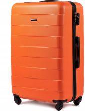 31958ece3f5eb Mała kabinowa walizka KEMER 401 S Pomarańczowa - pomarańczowy