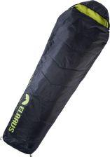 Elbrus Śpiwór Carrylight 800 Czarno Limonkowy