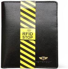 9325234ed4bec Portfel męski PETERSON 301-RFID-3-1-1 czarny. Kup teraz