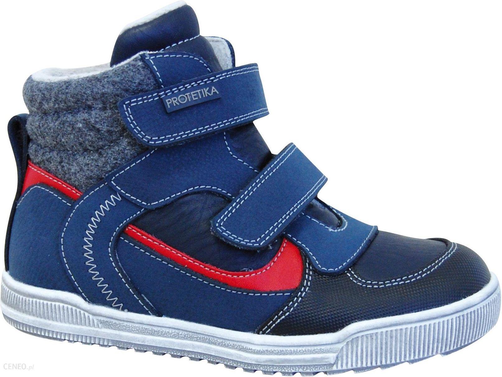 kolejna szansa oficjalny dostawca różne wzornictwo Protetika buty zimowe za kostkę chłopięce Skort 27 niebieskie - Ceny i  opinie - Ceneo.pl
