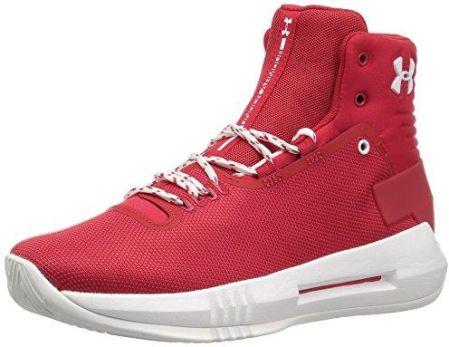 outlet store acf6b ea2a8 Amazon Under Armour Drive 4 dzieci Basketball buta, czerwony