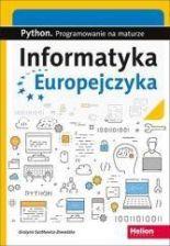 Podręcznik szkolny Informatyka Europejczyka. Python. Progr.na maturze - zdjęcie 1