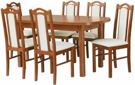 Stoły Z Krzesłami Zestawy Mebli Do Jadalni Ceneopl