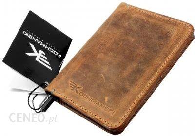 c9e92fd67b5c7 Cienki portfel męski skórzany slim Kochmanski 1266 - Ceny i opinie ...
